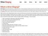 wine-staging