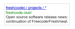 freshcode adverts